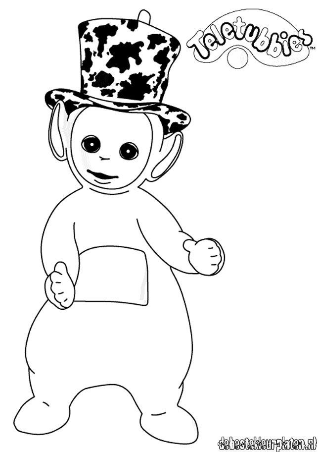Teletubbies10 - Printable coloring pages