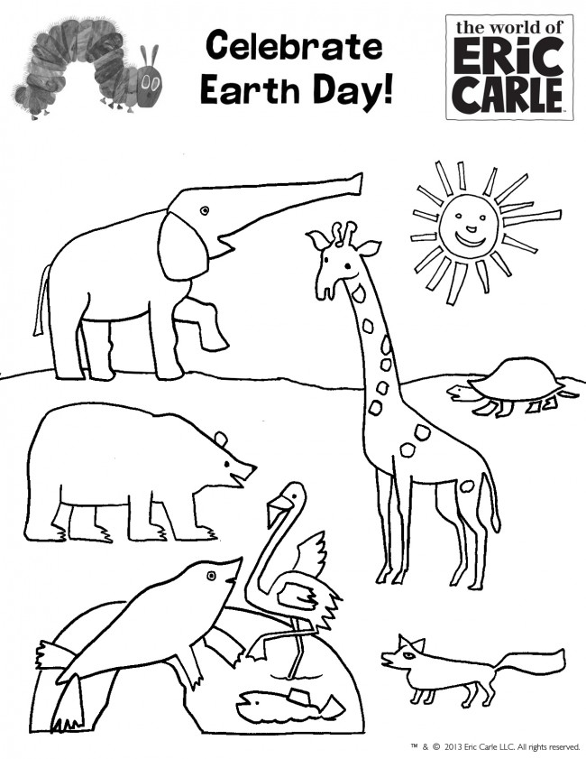 Free Eric Carle Coloring Pages - AZ Coloring Pages