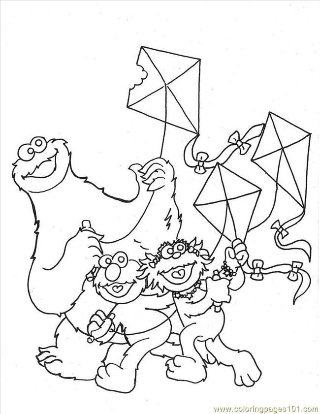 cooki Colouring Pages (page 3)