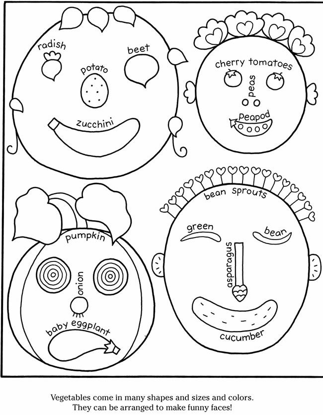 funnt face coloring pages - photo#46