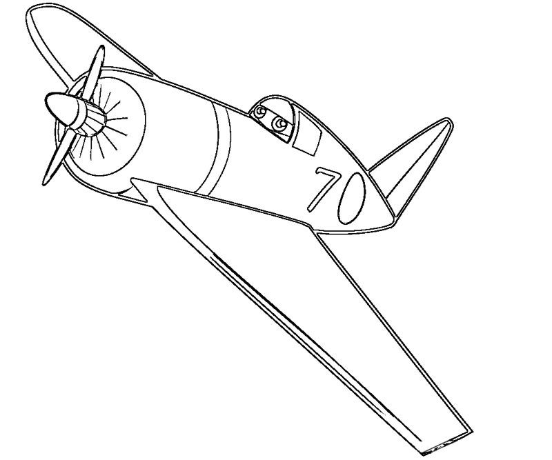 planes coloring pages for kids - photo#16
