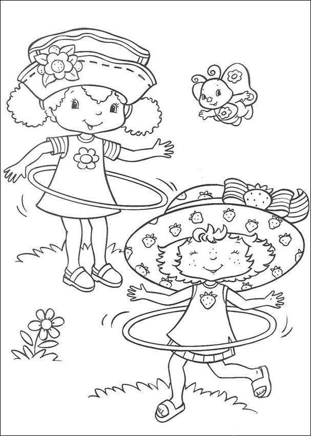 strawberry shortcake characters coloring pages - photo#24
