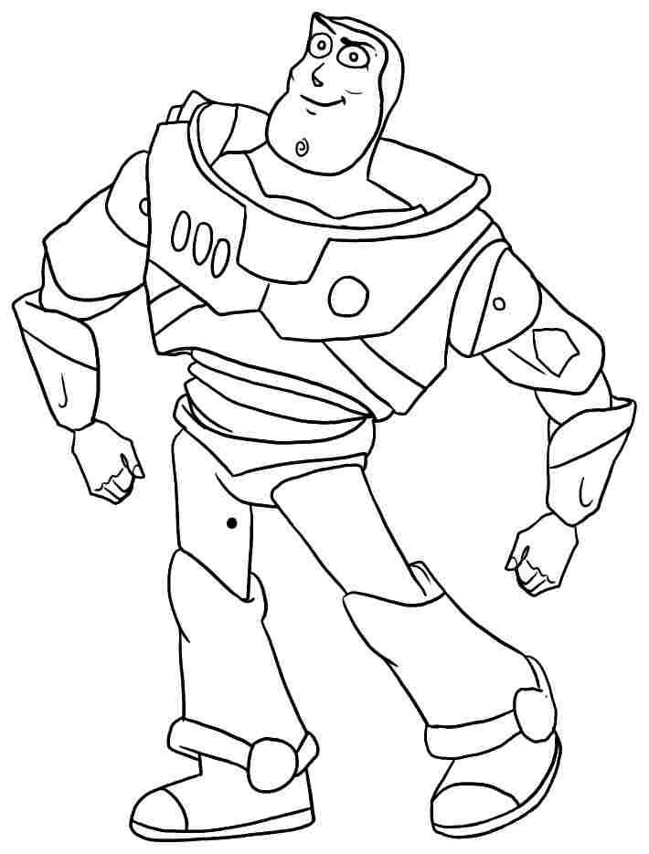 Buzz Lightyear Color Page Az Coloring Pages Buzz Lightyear Coloring Pages Free