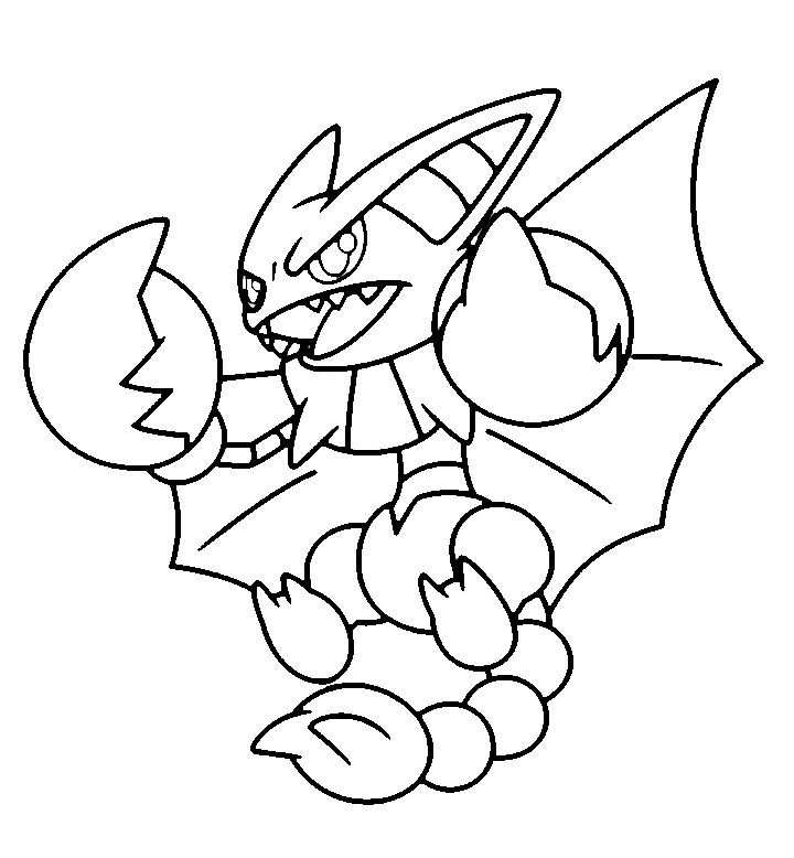 Legendary pokemon coloring pages rayquaza