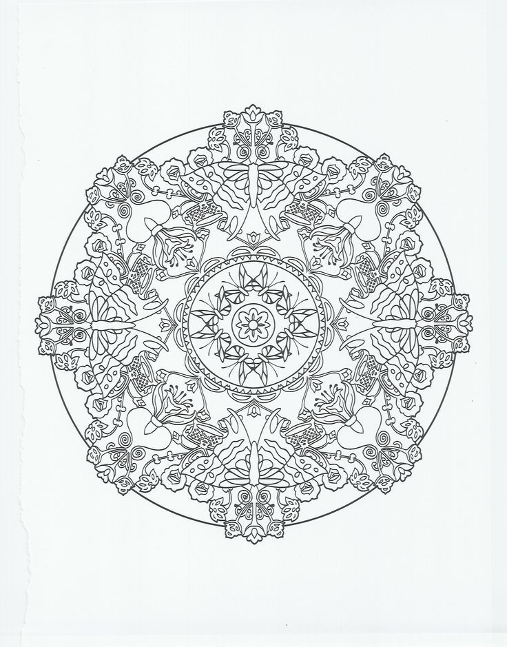 Mandala coloring pages pdf coloring home for Butterfly coloring pages pdf