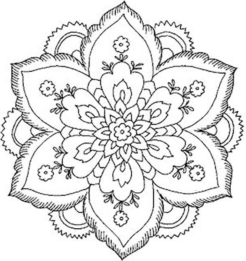 Mandala Images AZ Coloring Pages