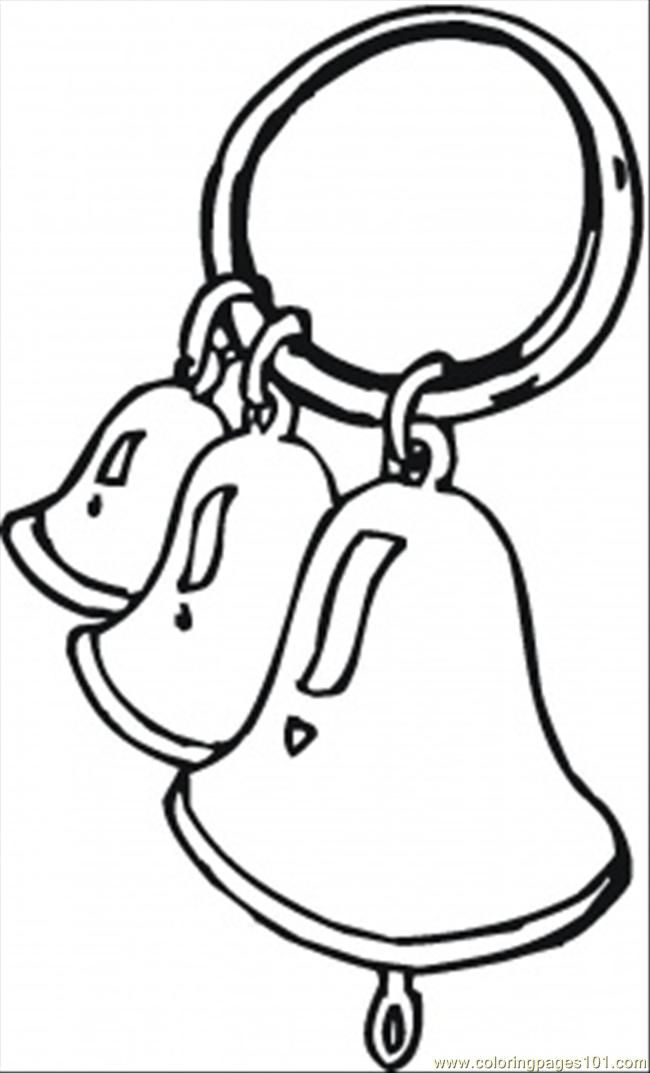 Coloring Pages Ring The Bells (Entertainment > Instruments) - free