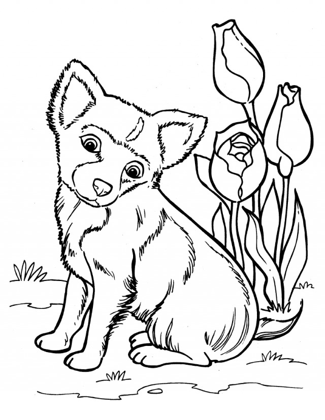 cute puppy coloring pages printable 217780 puppy coloring page