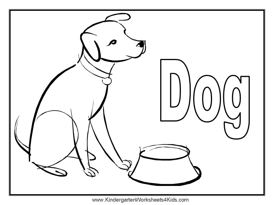 Dog Bone Coloring Pages Dog Bone Coloring Page