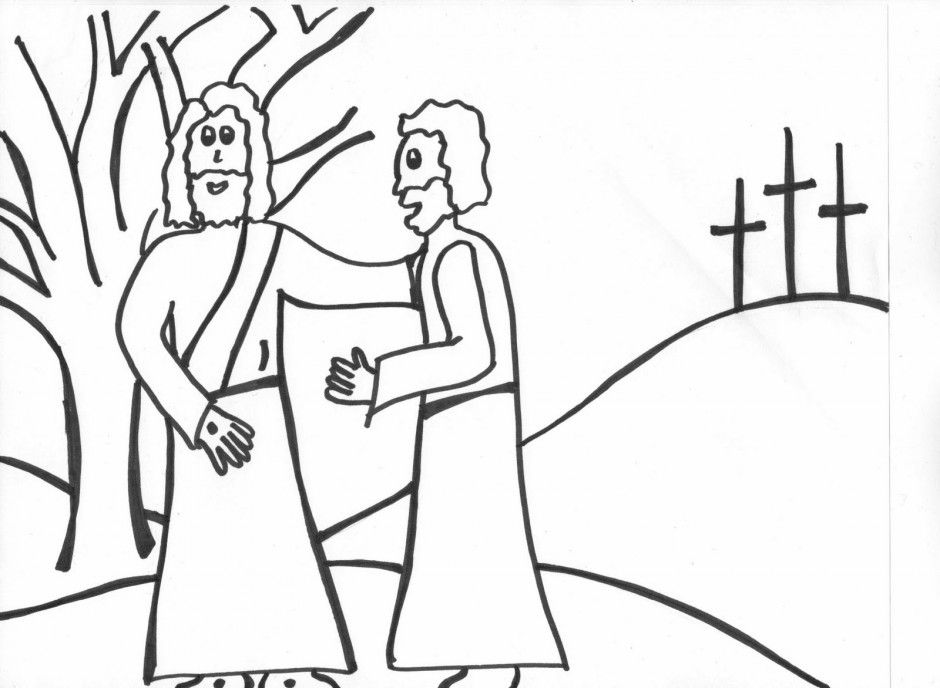 Catholic Coloring Pages For Kids Free - Coloring Home