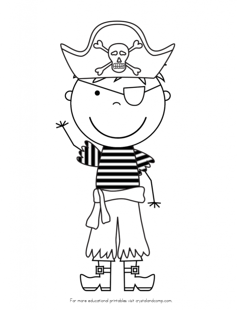 downloadable pirate coloring pages - photo#26
