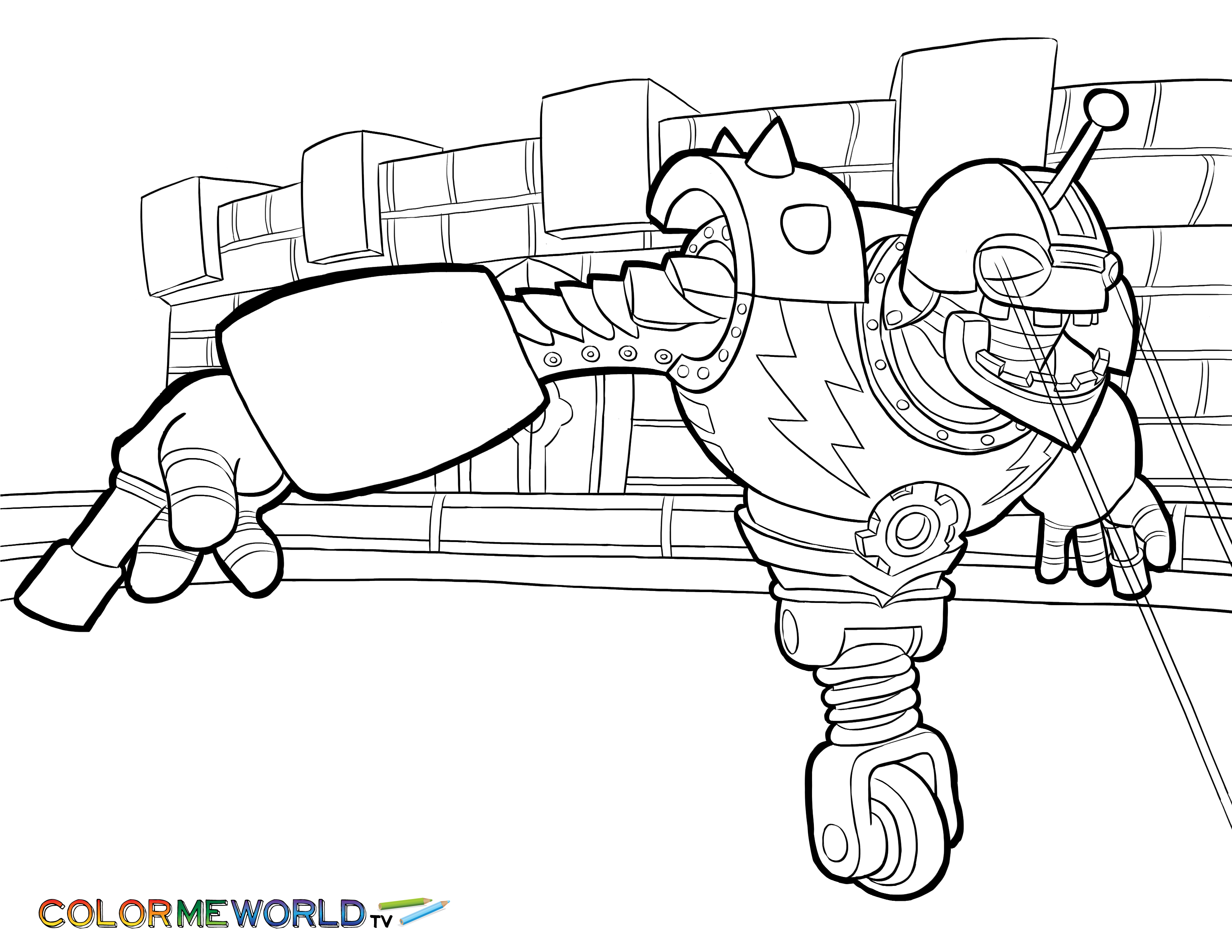 12 pics of skylanders trap team coloring pages skylanders
