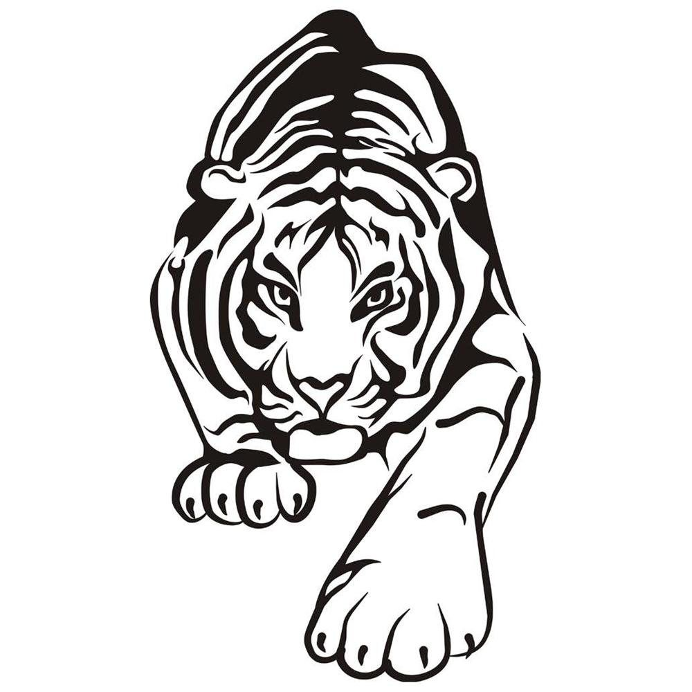 tiger coloring pages free coloring home