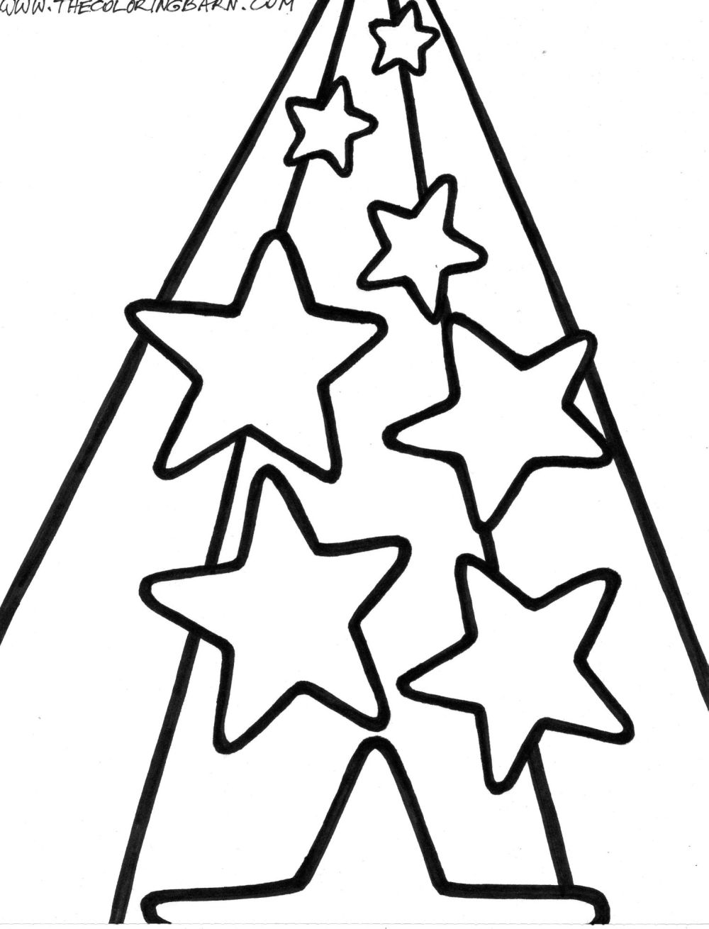 Star Coloring Pages For Preschoolers - Coloring Home