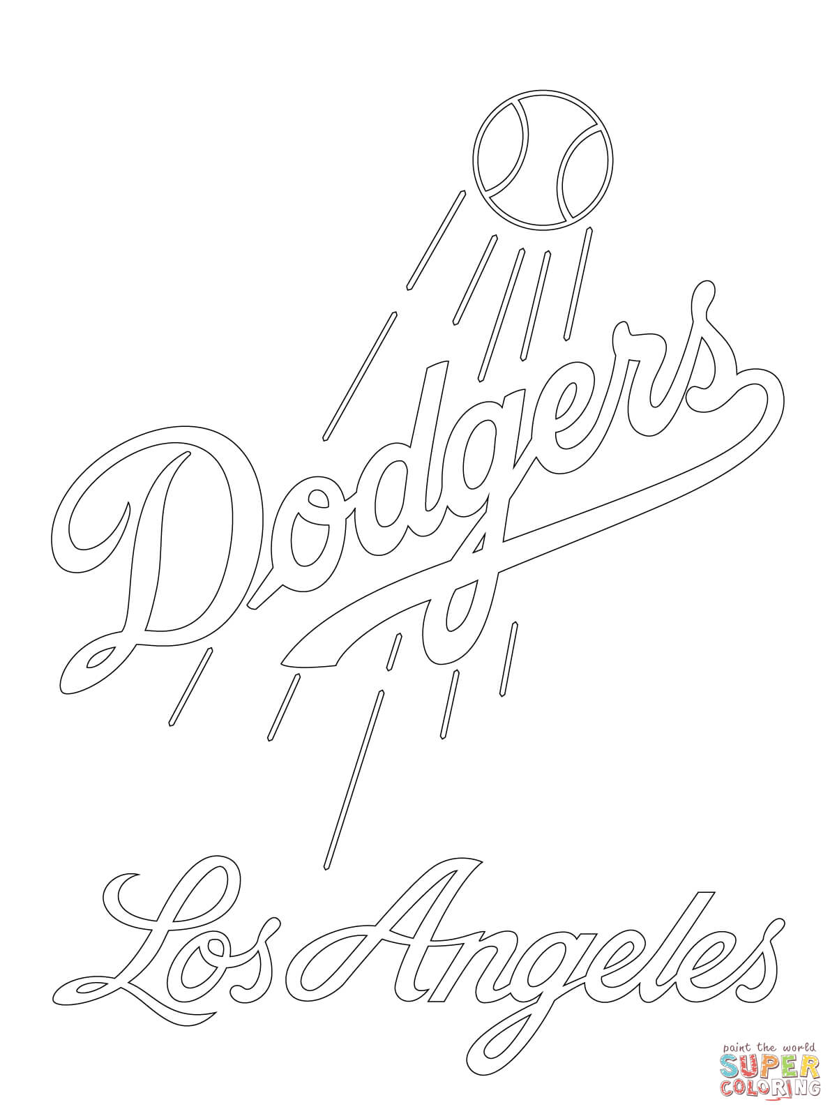 lakers logo coloring pages - photo#21