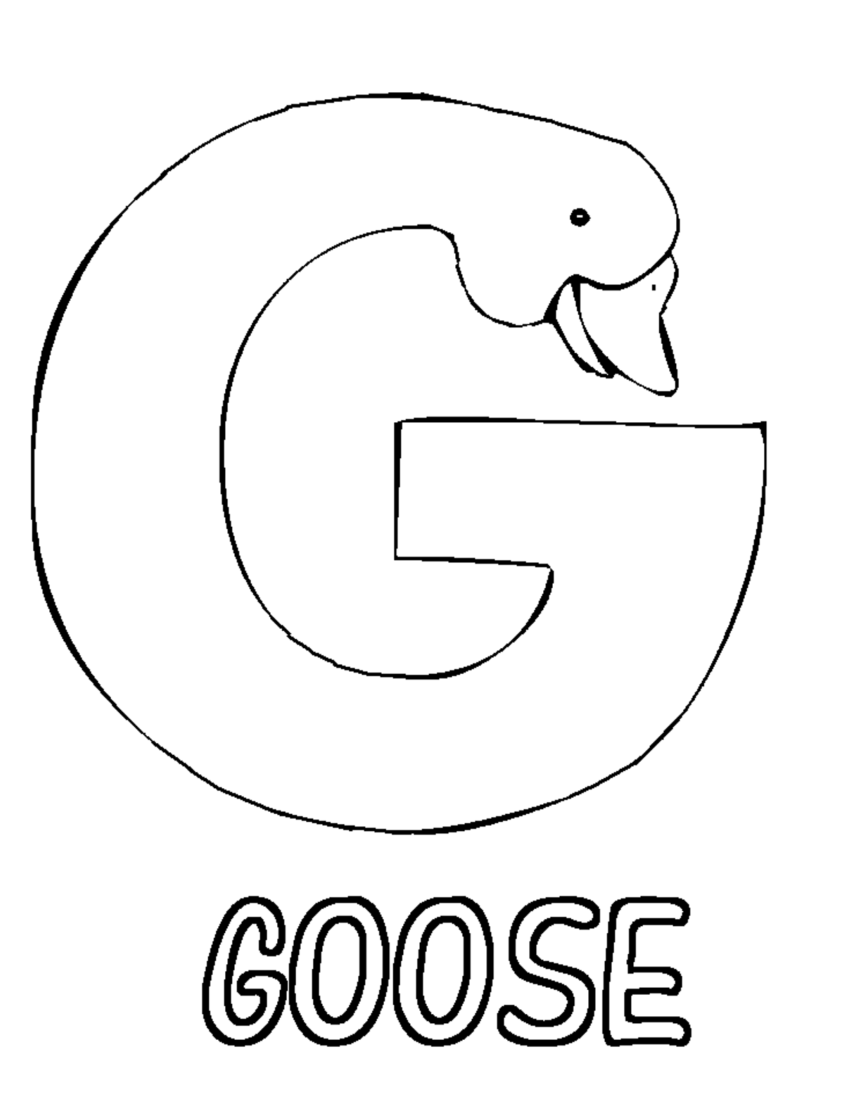 letter g worksheet coloring page the letter g alphabet coloring