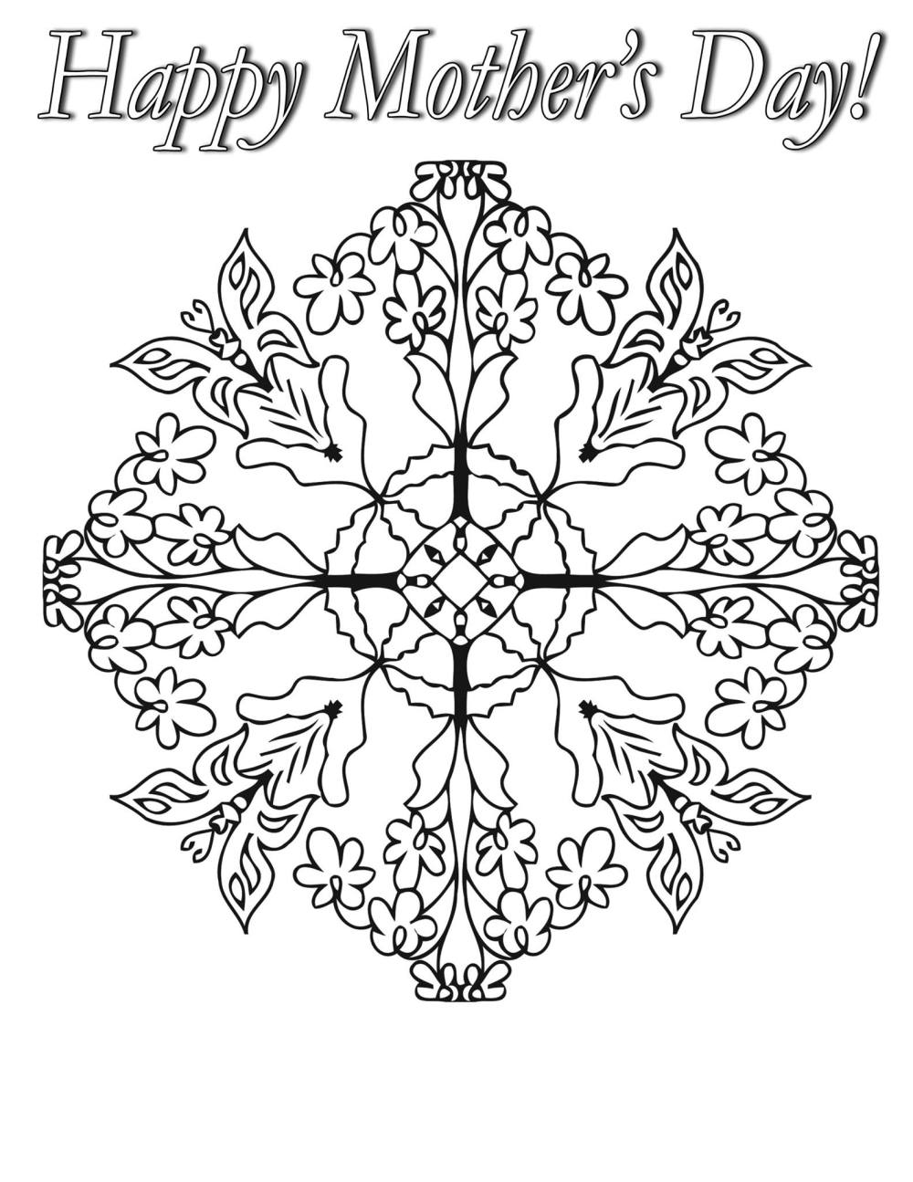 Southwest coloring pages free coloring home for Mothers day adult coloring pages