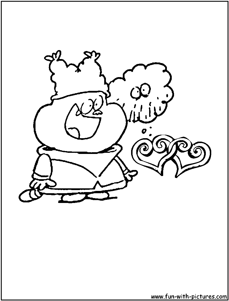 chowder cartoon coloring pages - photo#7
