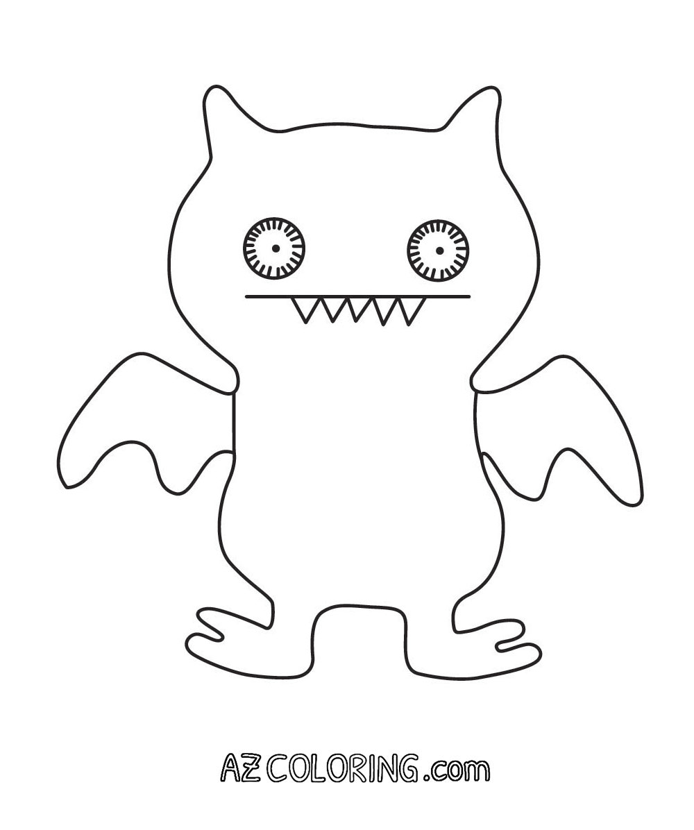 Ugly Dolls Coloring Pages - Coloring Home