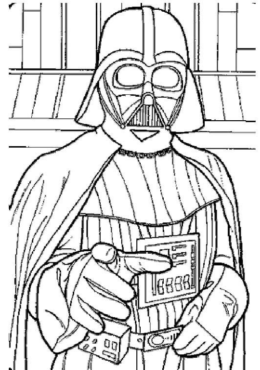 Darth Vader Coloring Pages - Coloring Home