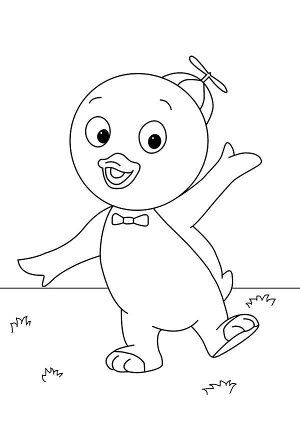 backyardigans coloring pages free coloring home
