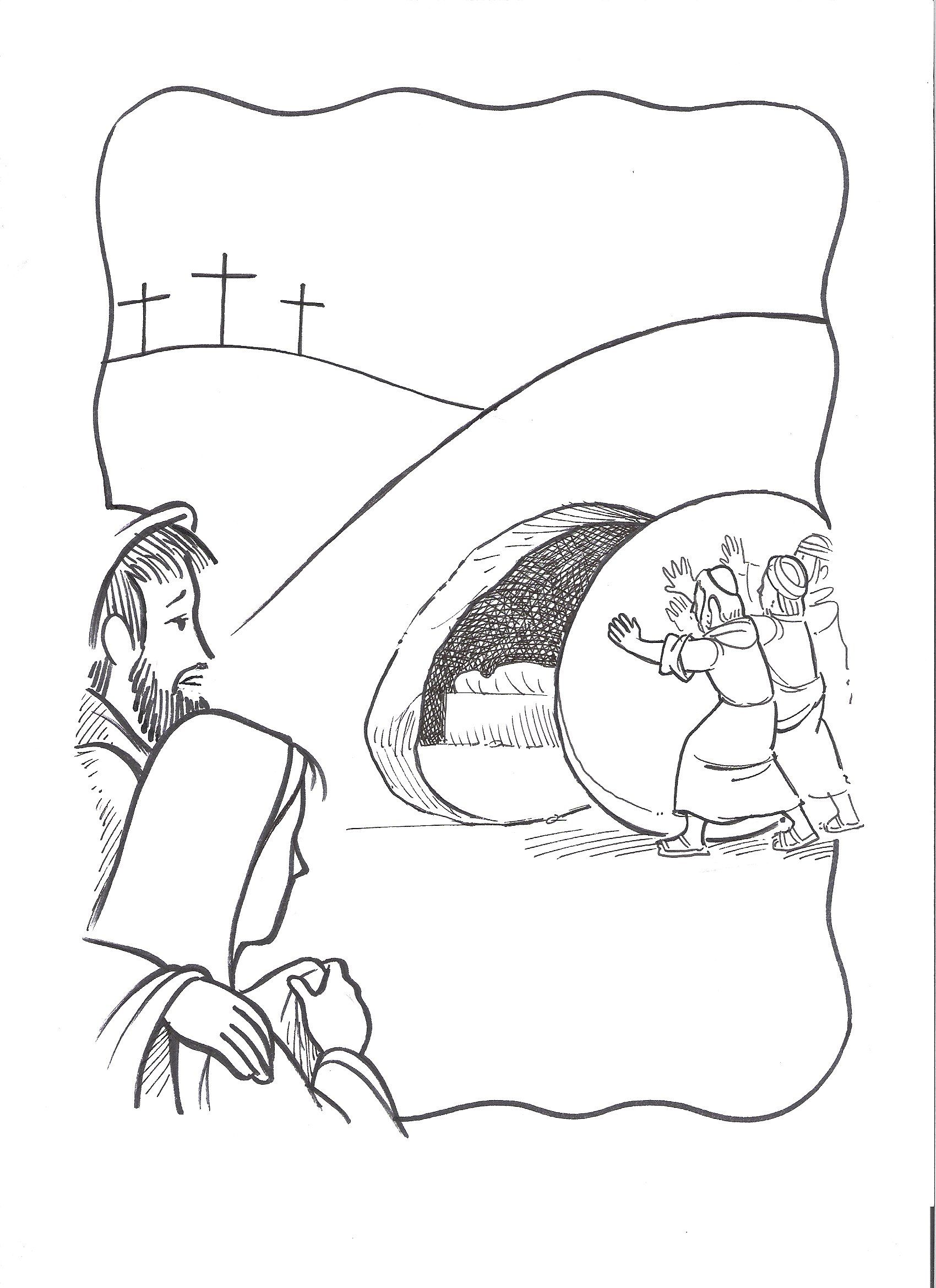 Jesus Tree: Symbols, Bible Readings and Colouring Pages ...