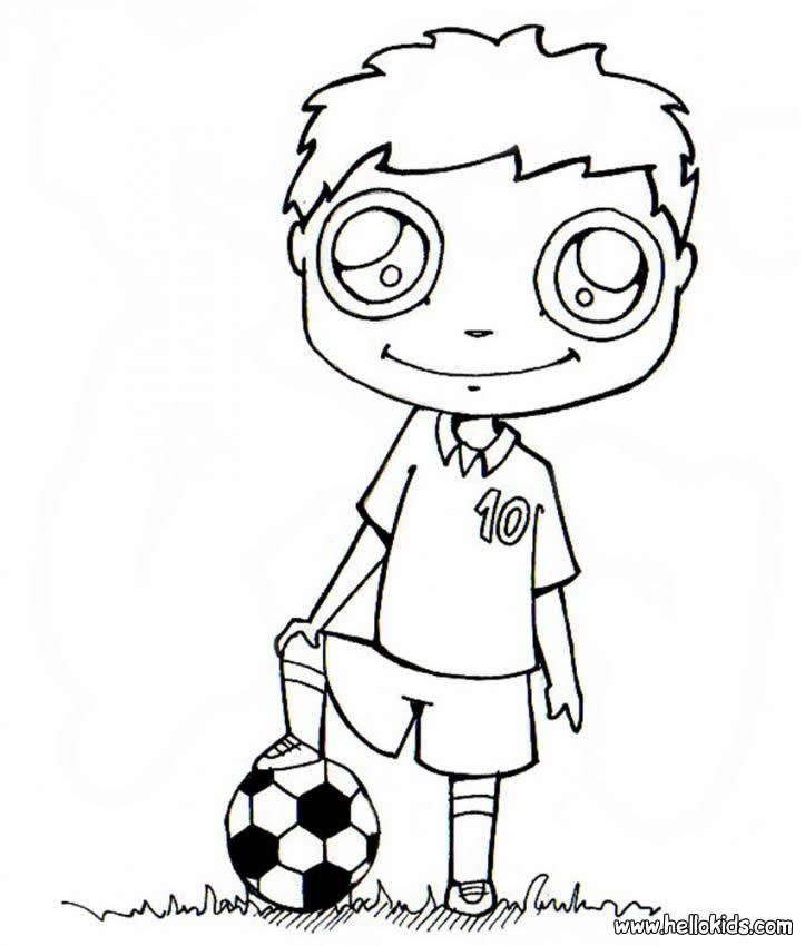 Soccer Messi Coloring Pages Cooloring Com Coloring Home
