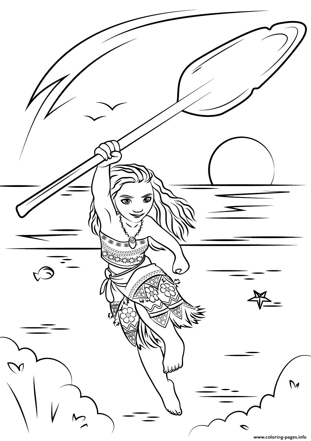 Moana Coloring Pages Coloring Home Coloring Pages Moana