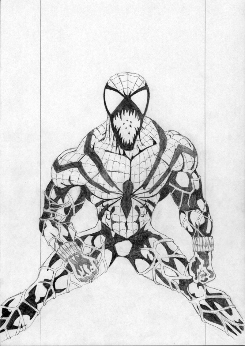 free carnage coloring pages coloring home