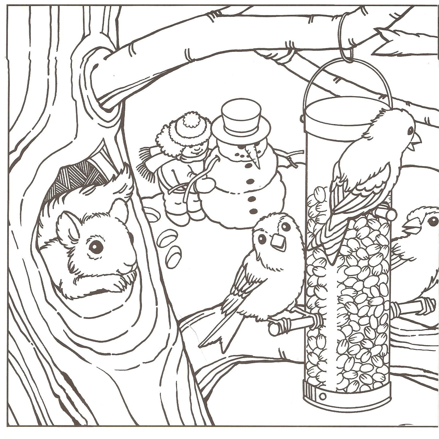 Printable 48 Winter Coloring Pages 2049 - Free Coloring Pages Of ...