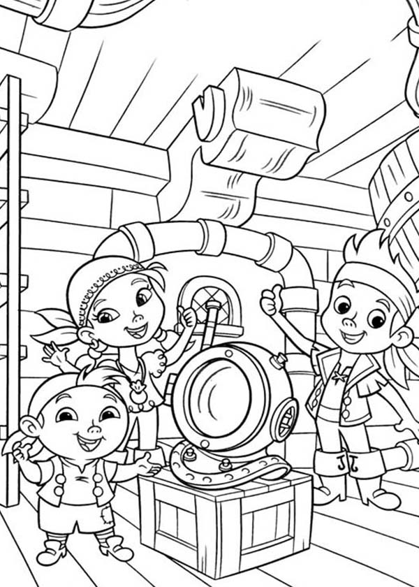 Coloring Pages For Captain Jake And The Neverland Pirates - Coloring ...