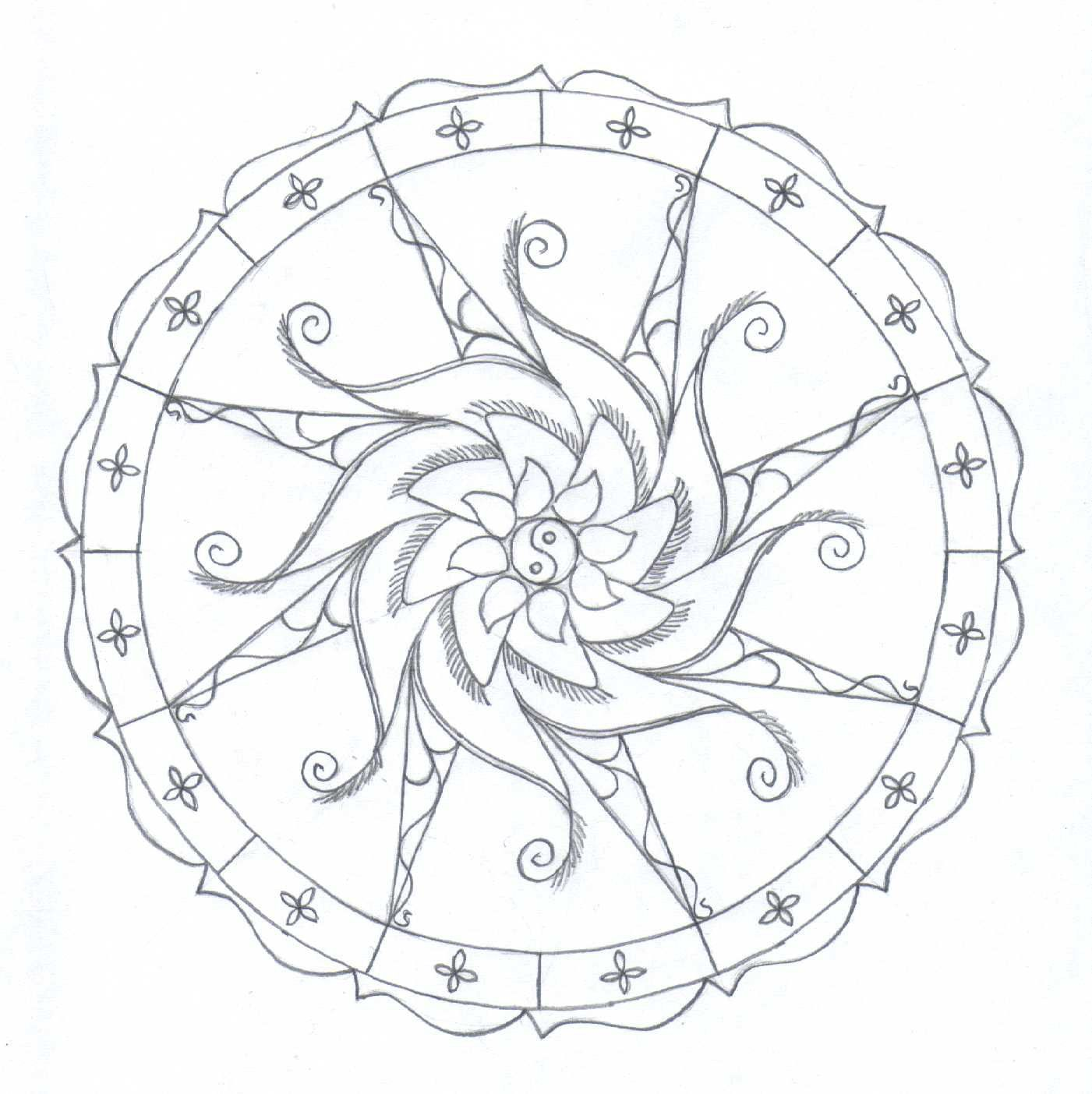 Free adults animal mandalas coloring pages to download | 1404x1401