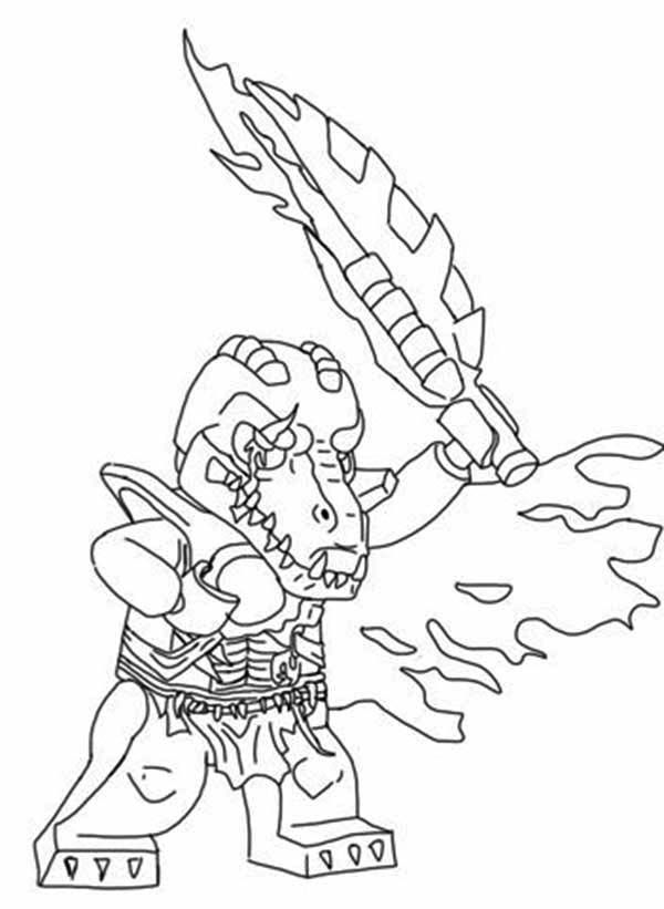 chima gorilla coloring page coloring pages