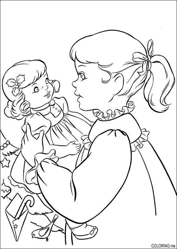 Baby Doll Coloring Pages Baby Doll Coloring Pages Printable