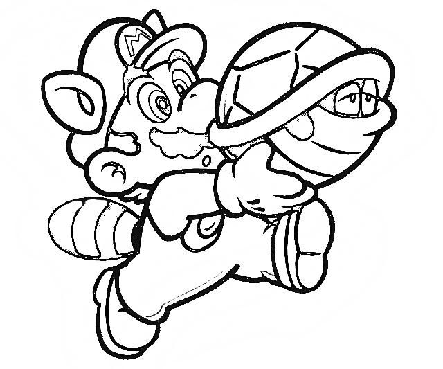 mario characters coloring pages - photo#35