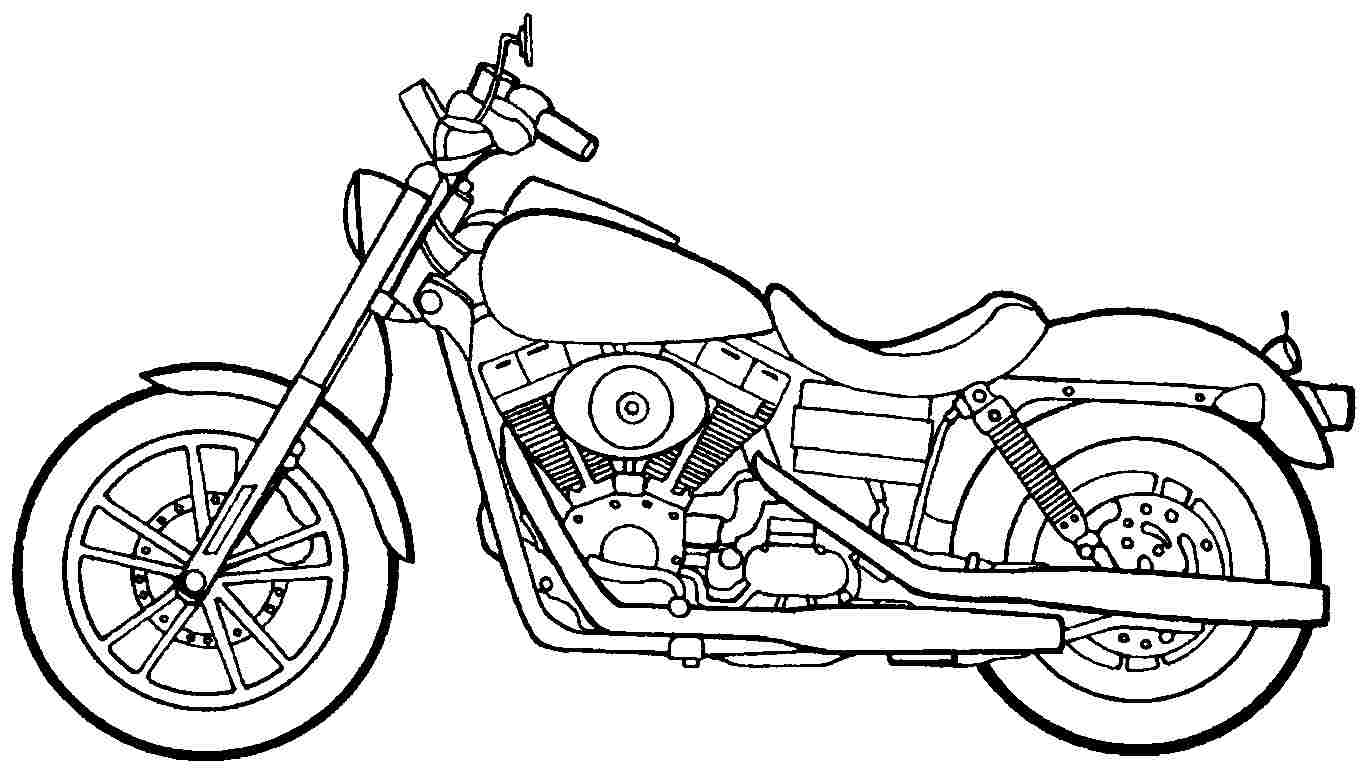 Motorcycle Pictures To Color. freestyle motocross coloring page free ...