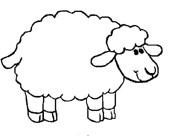 Sheep Coloring Vector For Adults Stock Vector - Illustration of ... | 445x567