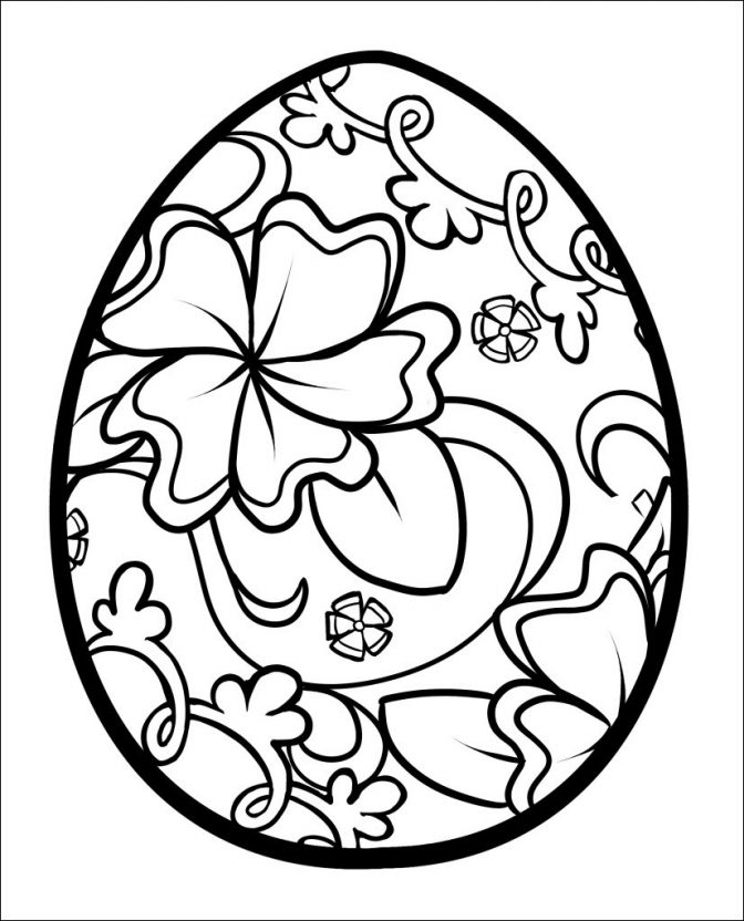 coloring ~ Easter Egg Printable Coloring Page Elegant Images Free ...