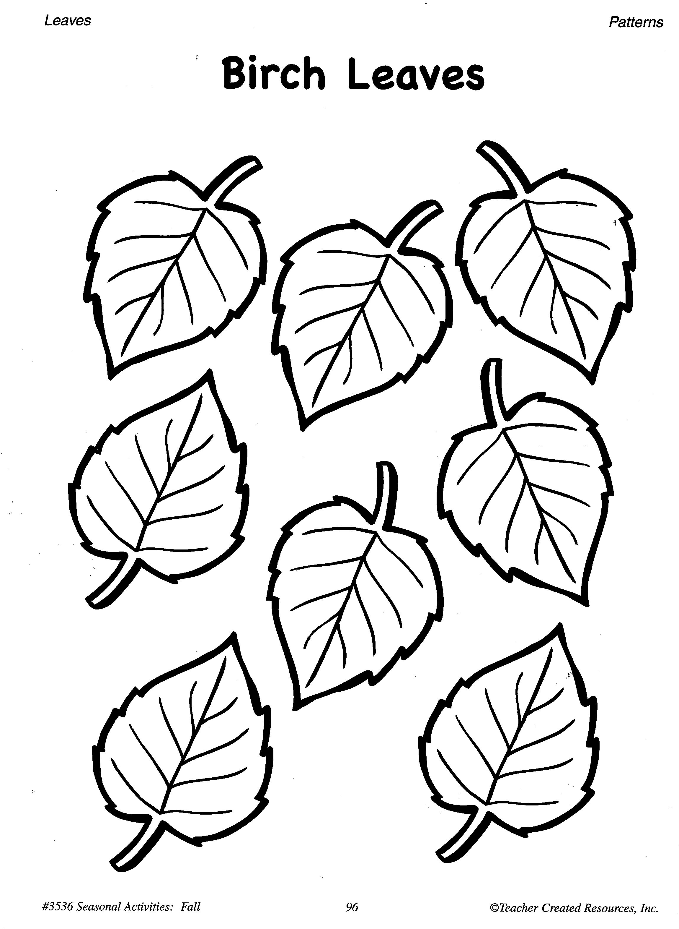 image regarding Printable Leaves known as Simplest Illustrations or photos Of Printable Leaf Behavior - Tree Leaf Reduce Out
