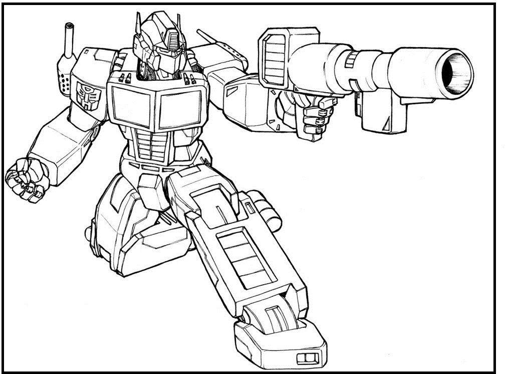 Dibujos Para Colorear E Imprimir De Transformers 4 Free Printable