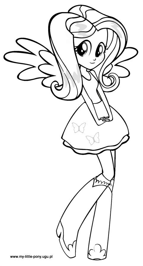 Equestria Girls Printable Coloring Pages | Cooloring.com