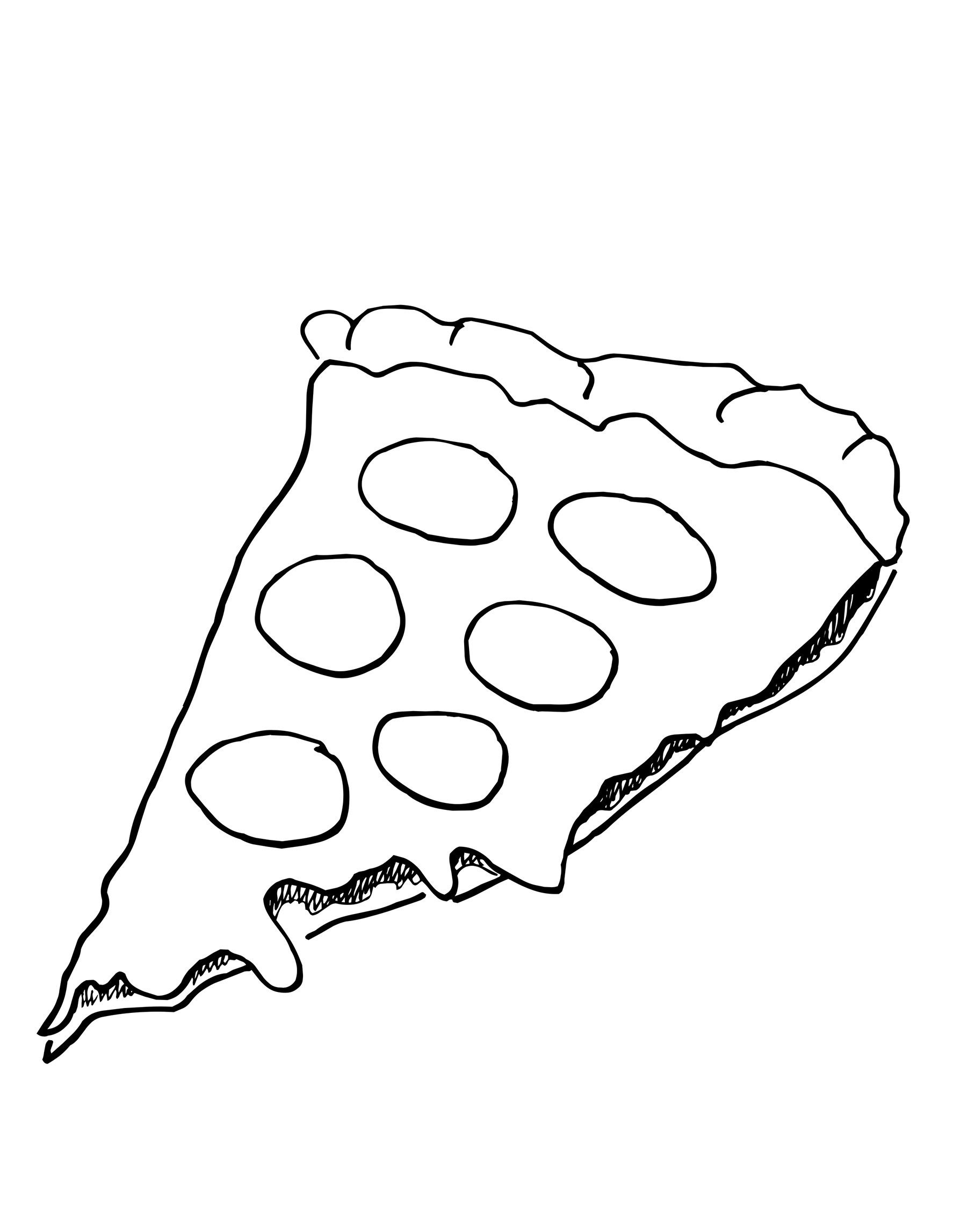 pizza coloring pages to print pizza coloring sheet coloring home
