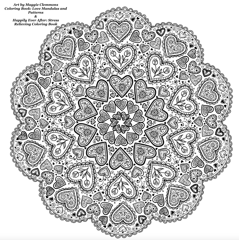 Free Coloring P... Love Poem Coloring Pages For Adults