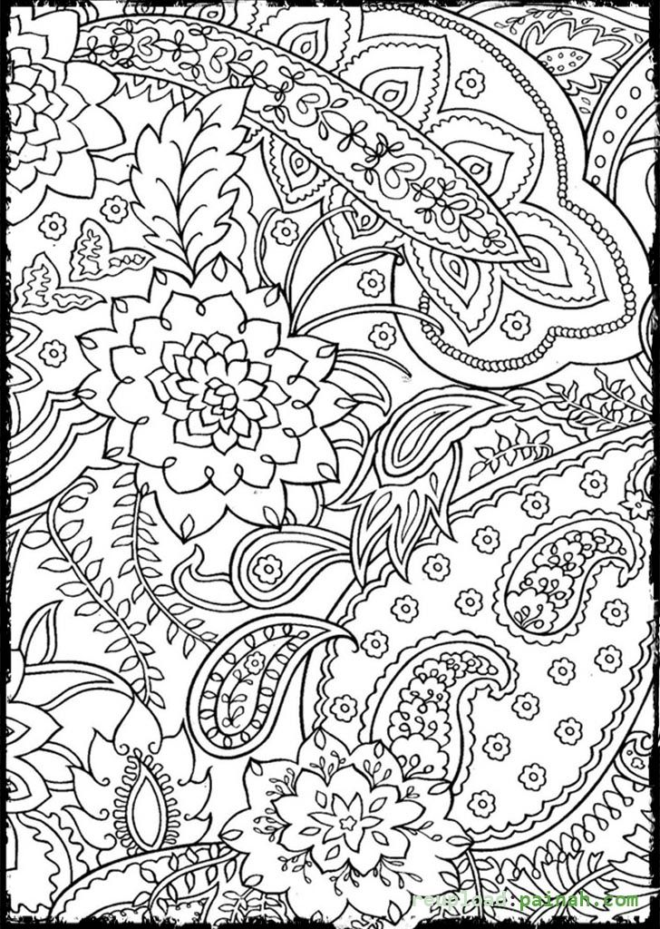free coloring pags for adults