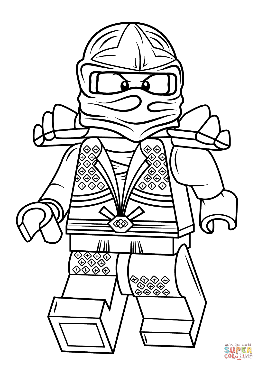 Ninjago Coloring Pages Lloyd Coloring Home Lego Ninjago Colouring Pages To Print
