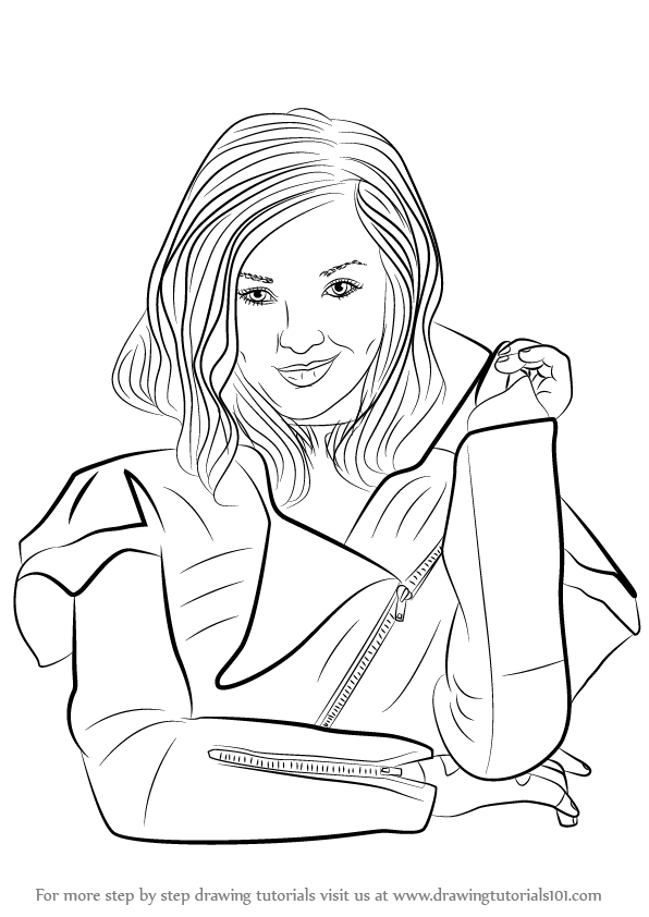 Descendants Coloring Pages Evie at GetDrawings.com | Free ...