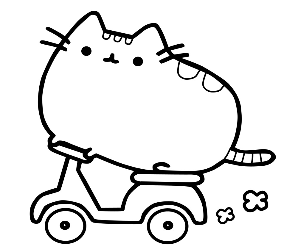coloring ~ Pusheen Coloring Pages Pdf Remarkable Photo ...
