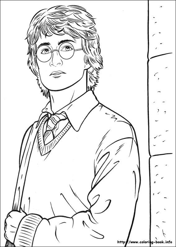 Harry Potter Coloring Pages On Coloring Book.info Coloring Home