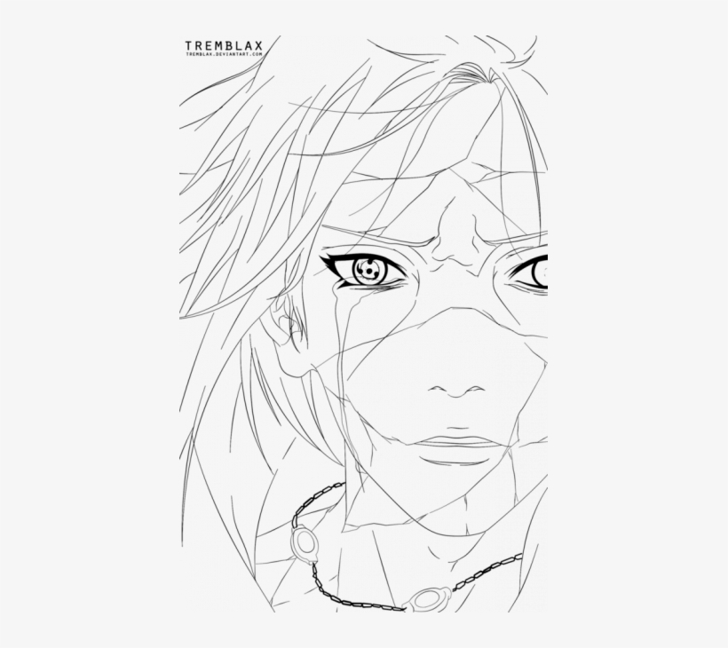 Uchiha Itachi Coloring Pages U8 PNG Image | Transparent PNG Free Download  on SeekPNG