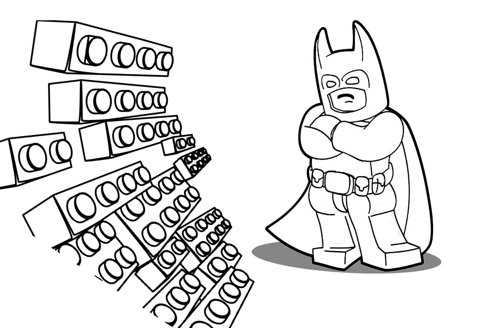Lego movie coloring pages - Coloring for kids : coloring-adventure ...